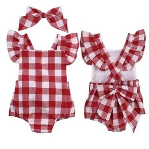 Other - sun-suit for baby girl 0-3 mo.